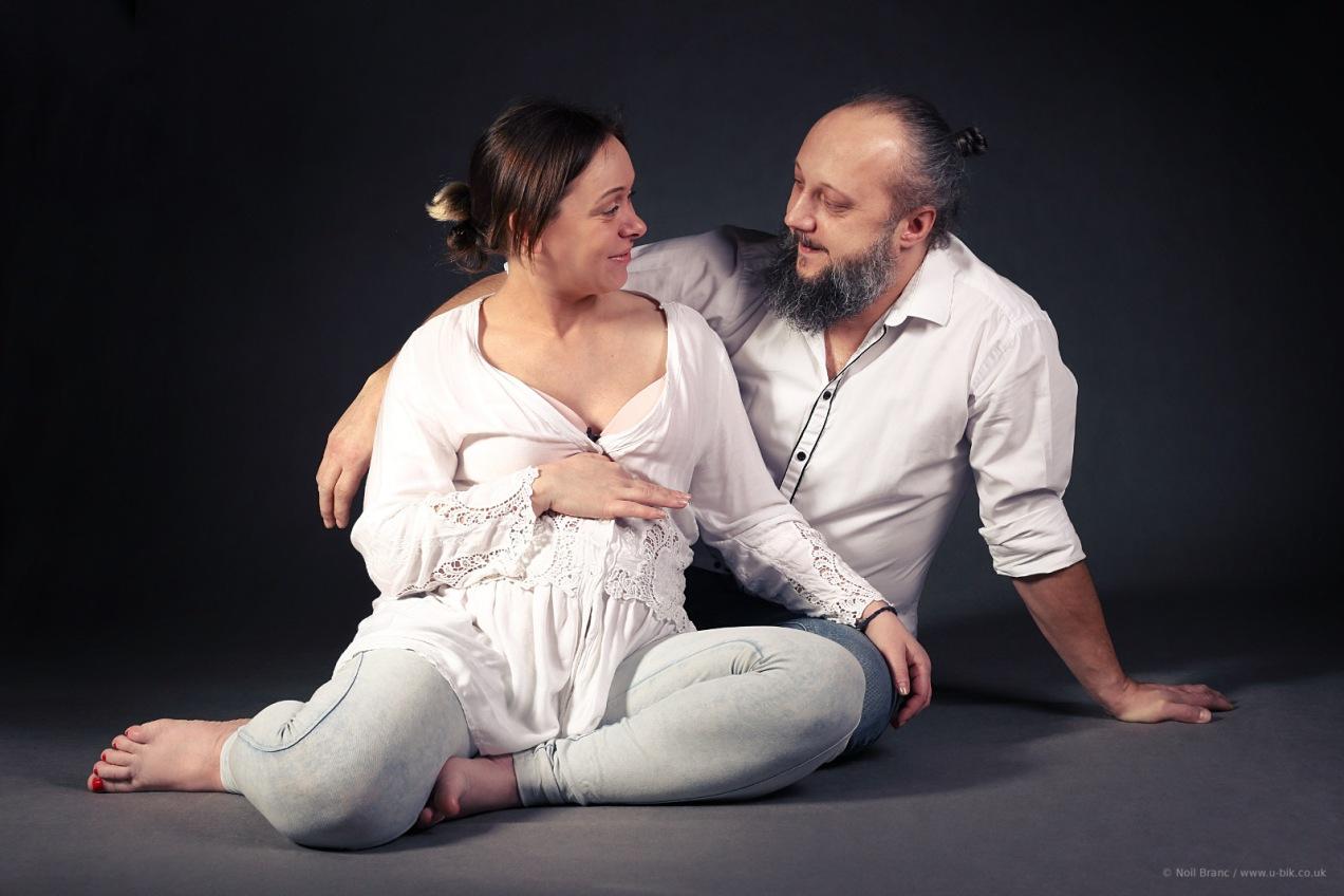 Dorota i Leszek, ciążowa sesja zdjęciowa